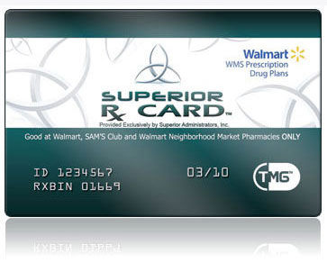 SuperiorRxCard Walmart Prescription Savings Program